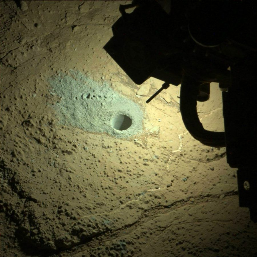 Ночной Марс, скважина
