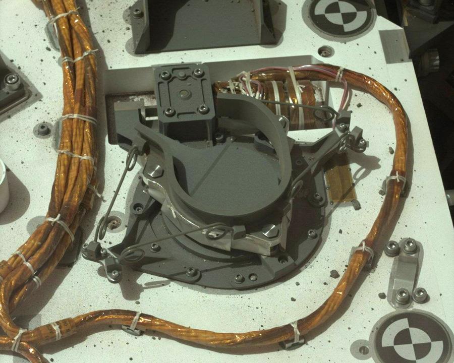 Прибор CheMin. Рентгеновский дифрактометр на Марсе.
