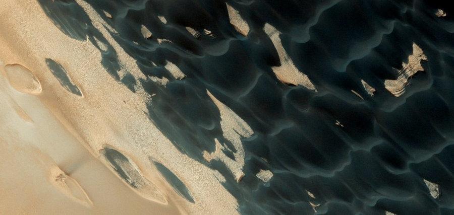 Рептиловые дюны на Марсе