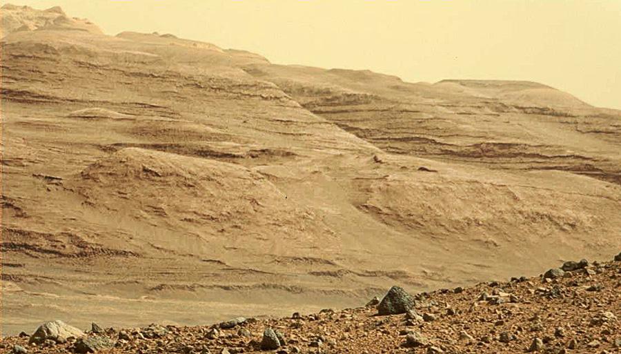 Curiosity слои горы Шарпа