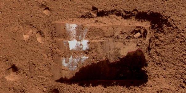 Phoenix раскопки воды на Марсе