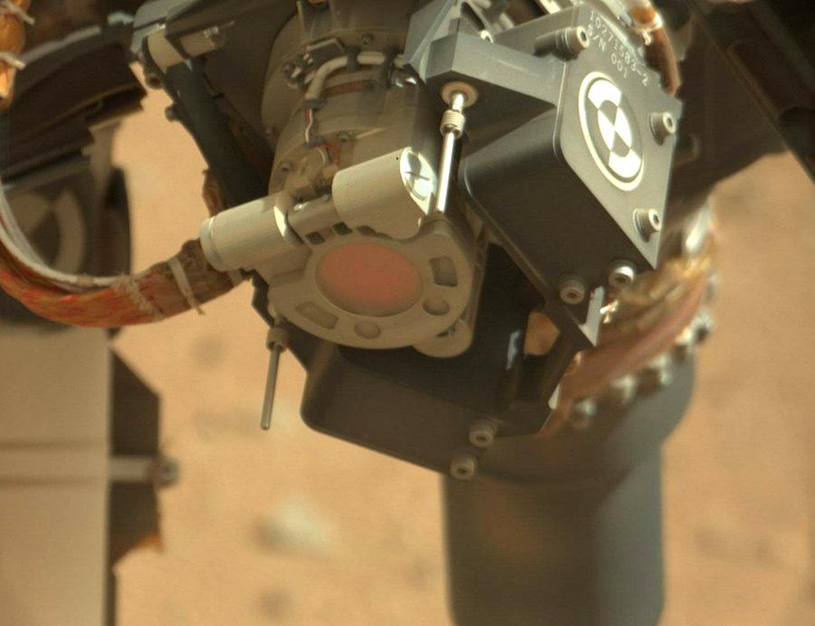 Curiosity камера MAHLI