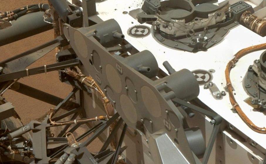 Curiosity SAM корпус марсохода