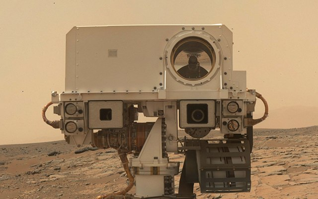 Curiosity first drilling (12)