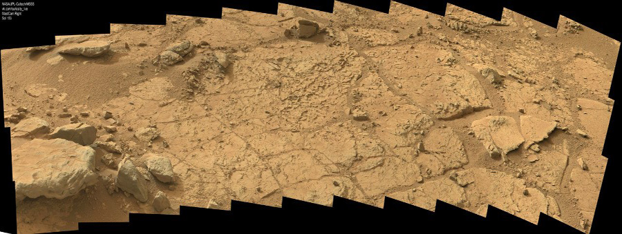Curiosity first drilling (15)