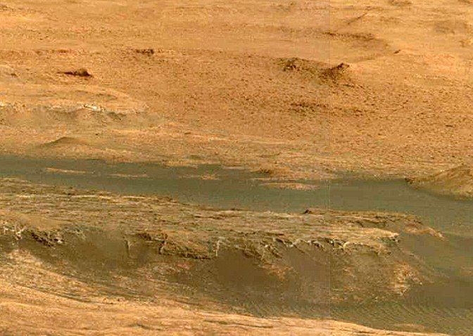 Curiosity first drilling (17)