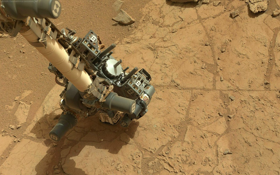 Curiosity first drilling (2)
