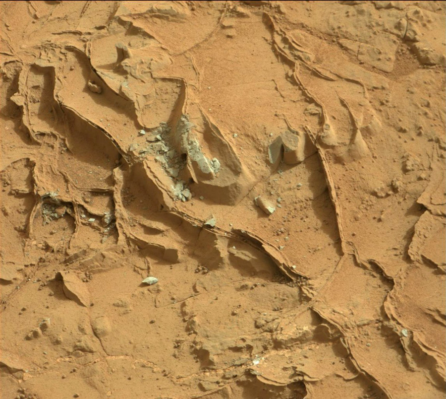 Curiosity first drilling (6)