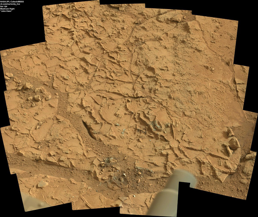 Curiosity first drilling (7)