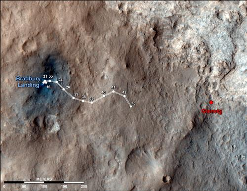 Путь марсохода
