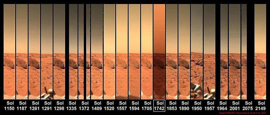 Небо Марса