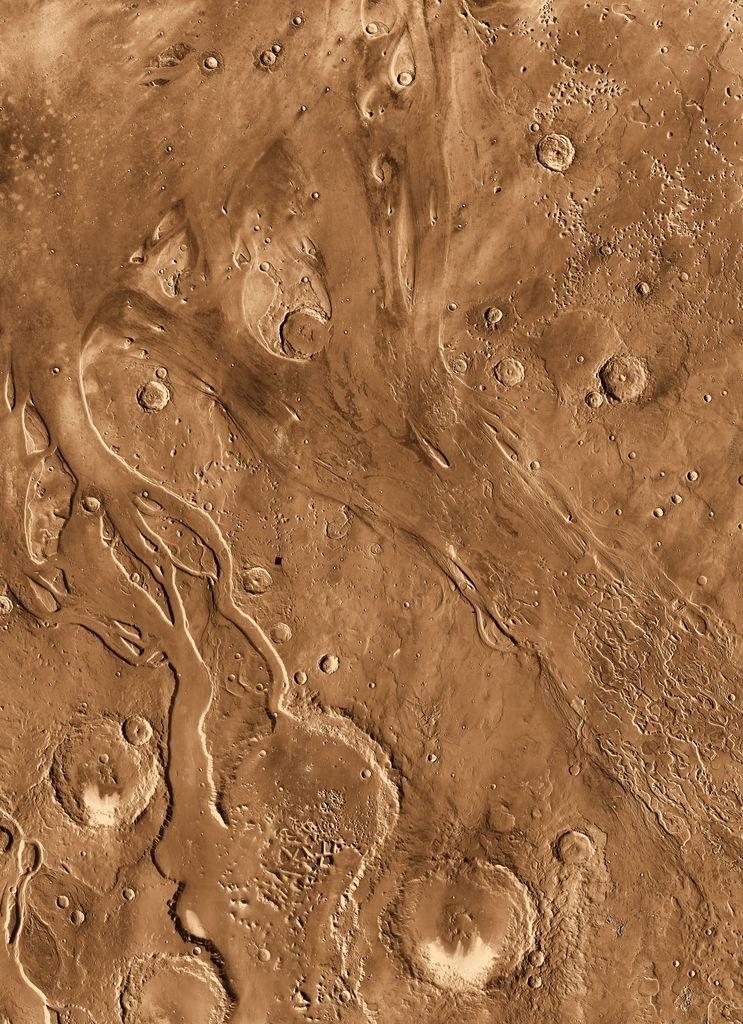 Марс из космоса Mars Odyssey