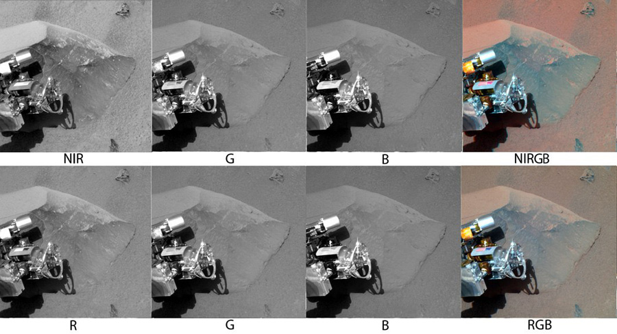 Как делают цветные снимки Марса