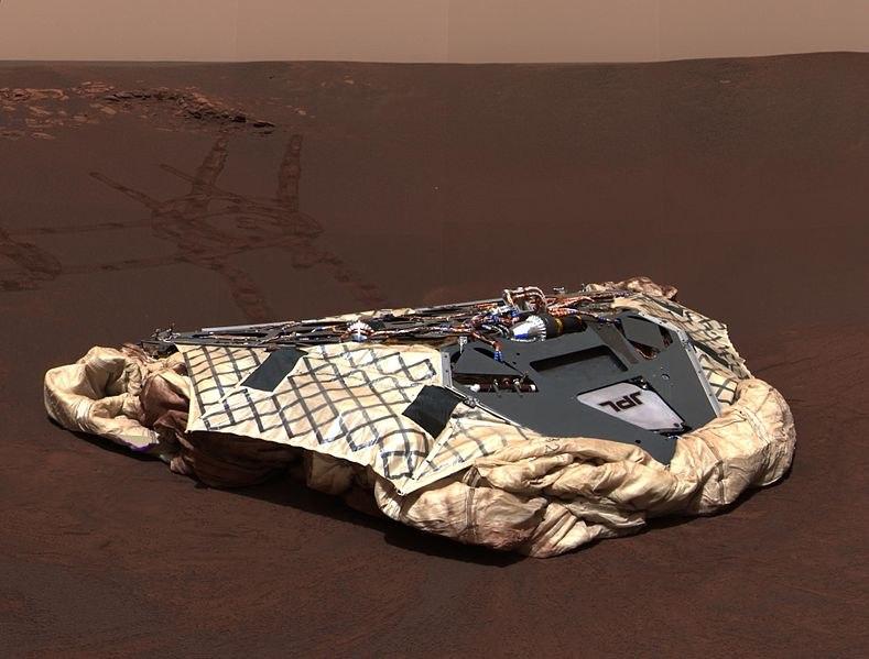 Настоящий цвет Марса