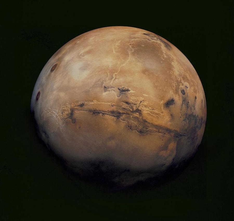Марс из космоса Viking