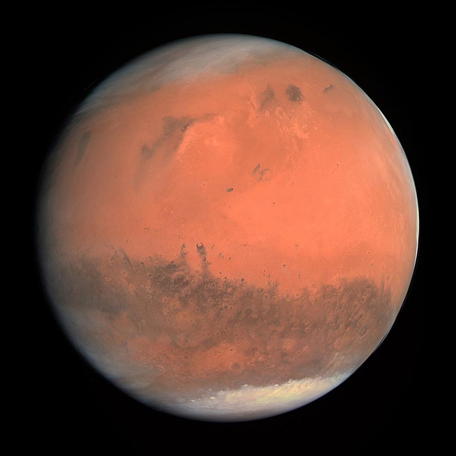 Марс из космоса Rosetta