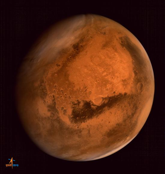 Марс из космоса Mars Orbiter ISRO