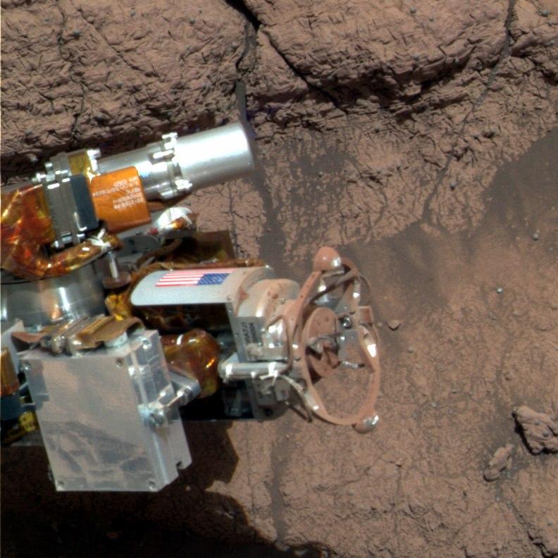 Цвет Марса на самом деле