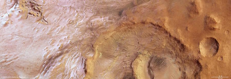 Марс из космоса Mars Express