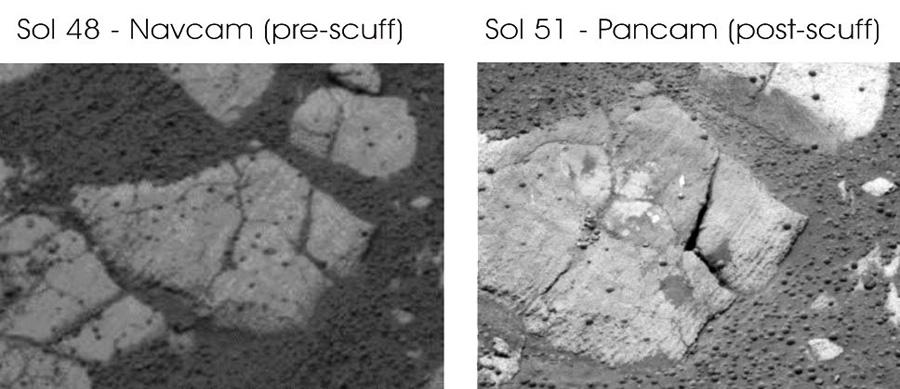 Opportunity работа марсохода на поверхности
