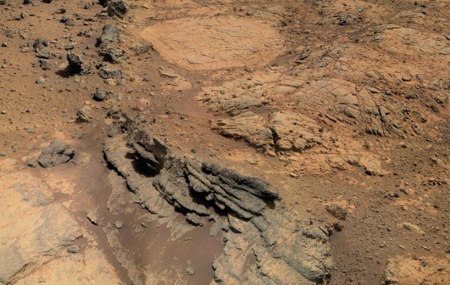 Opportunity поверхность Марса