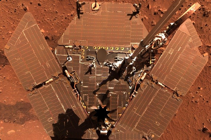Opportunity пыль на солнечных батареях марсохода