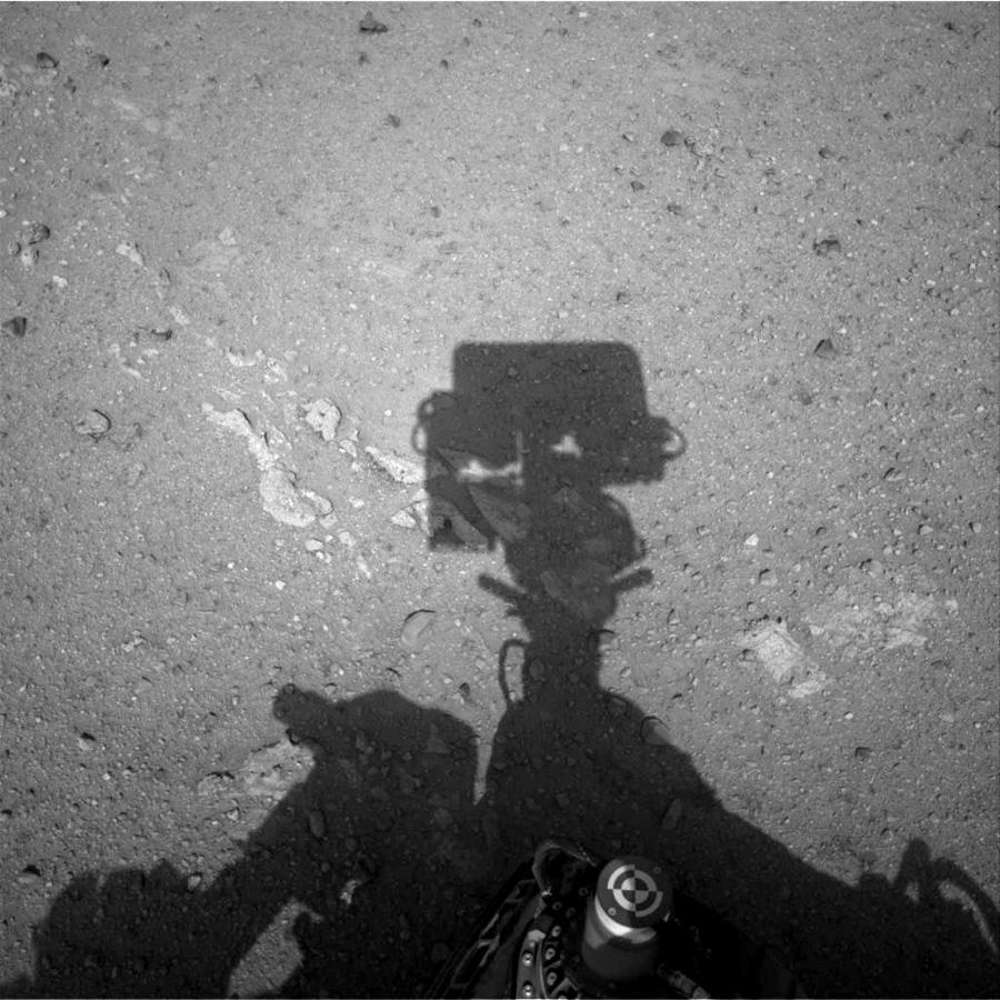 Curiosity на Марсе: начало
