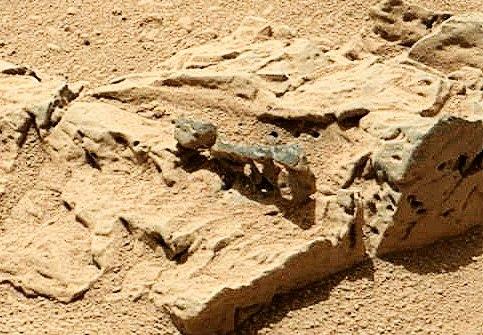 Исследование марсианской породы