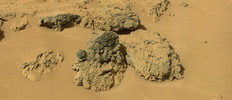 Порода Марса участок Rocknest