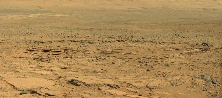 Осадочные породы Марса