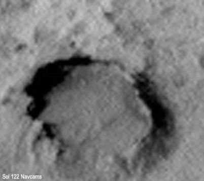 "gale crater ""пузыри"" в породе Марса"