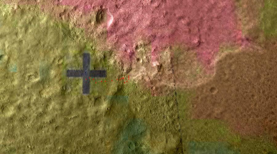 Гленелг, карта тепловой инверсии
