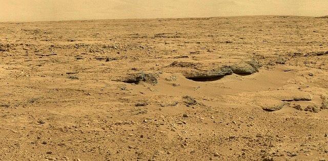 Панорама кратера Гейла, Марс