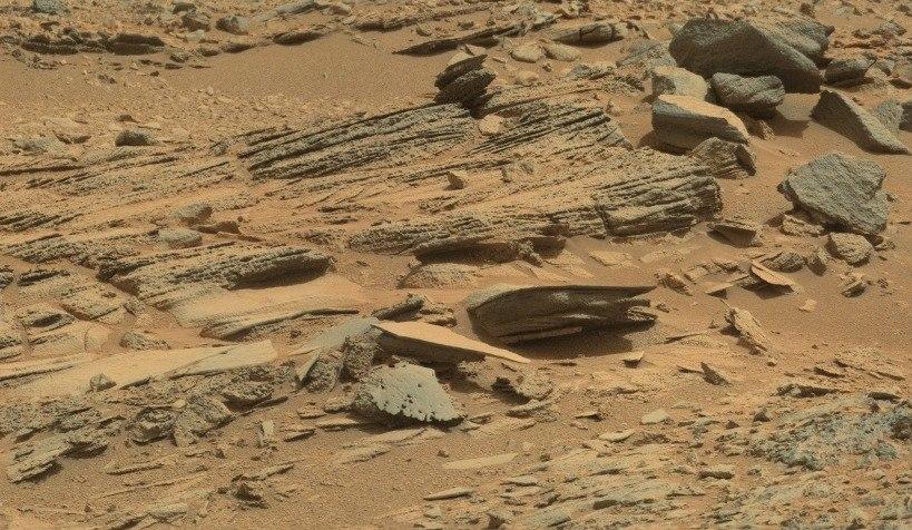 Осадочные породы Марса,