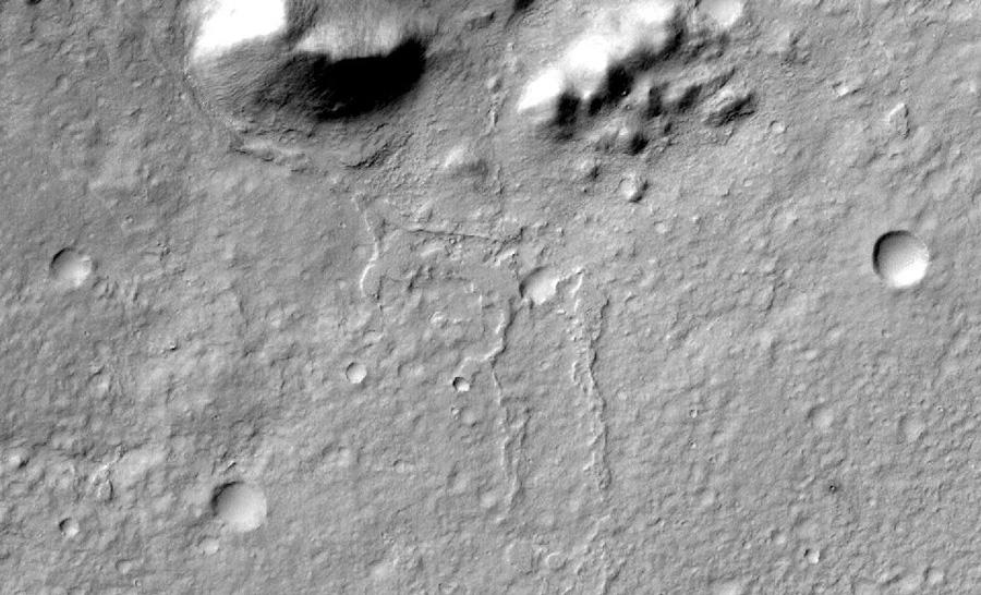 Обратные (инвертированные) русла Марса