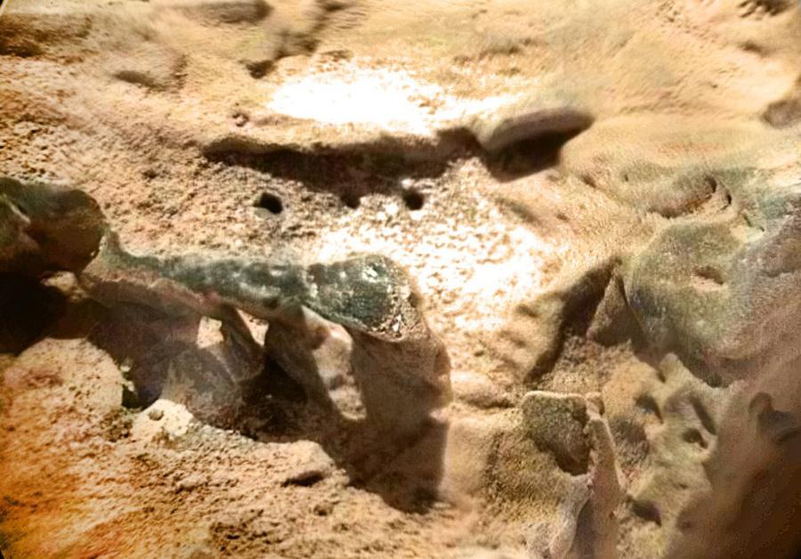 Исследование марсианской породы лазером ChemCam