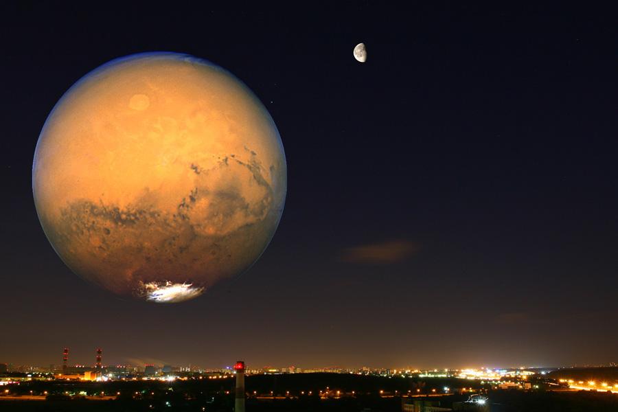 планета марс луна фото осуждены