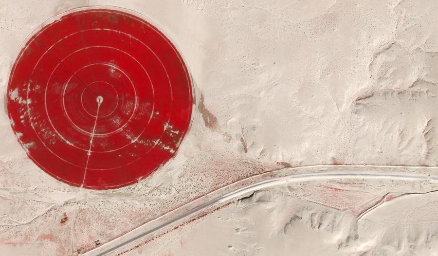 Цветной снимок со спутника SkyBox