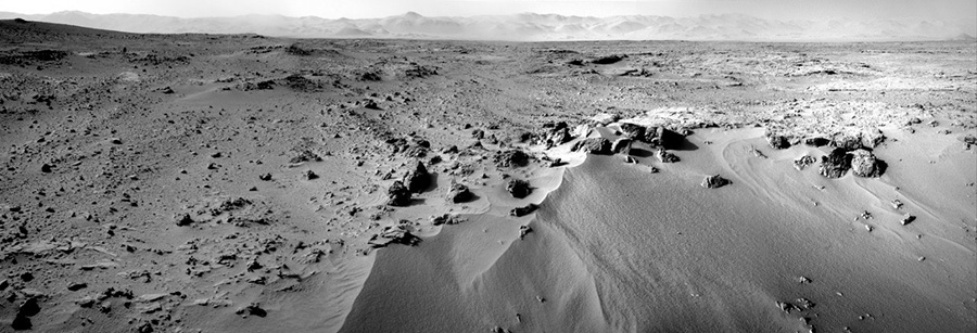Панорама Rocknest на Марсе