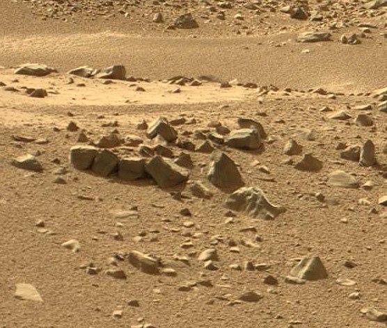 Кирпичная кладка на Марсе