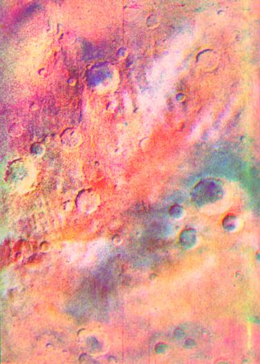 Тут подробнее о советском цветном Марсе.