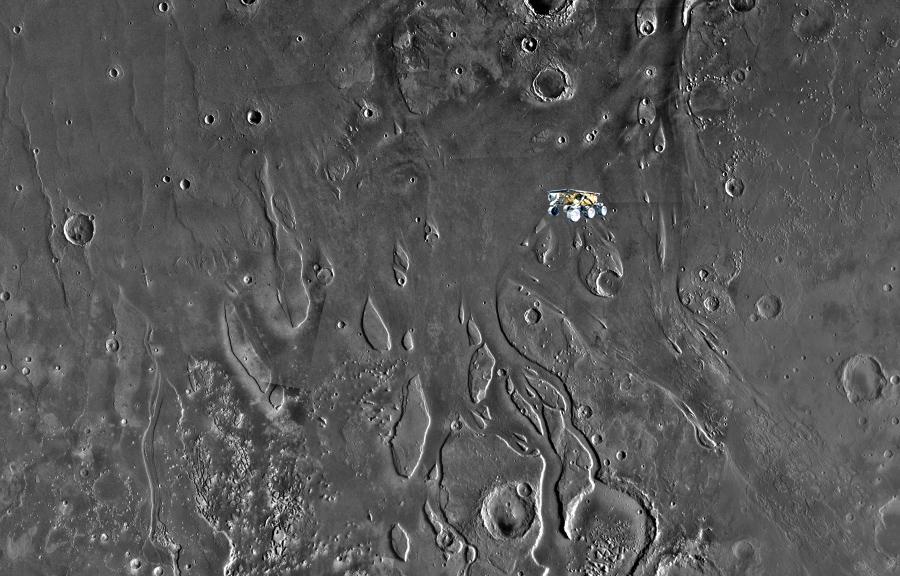 Речные отложения на Марсе