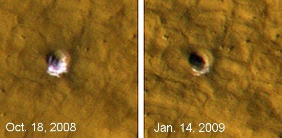 Лед на Марсе