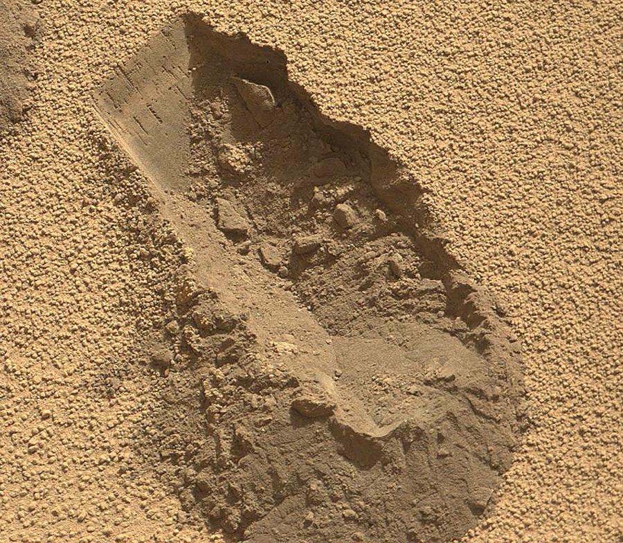 Раскопки на Марсе