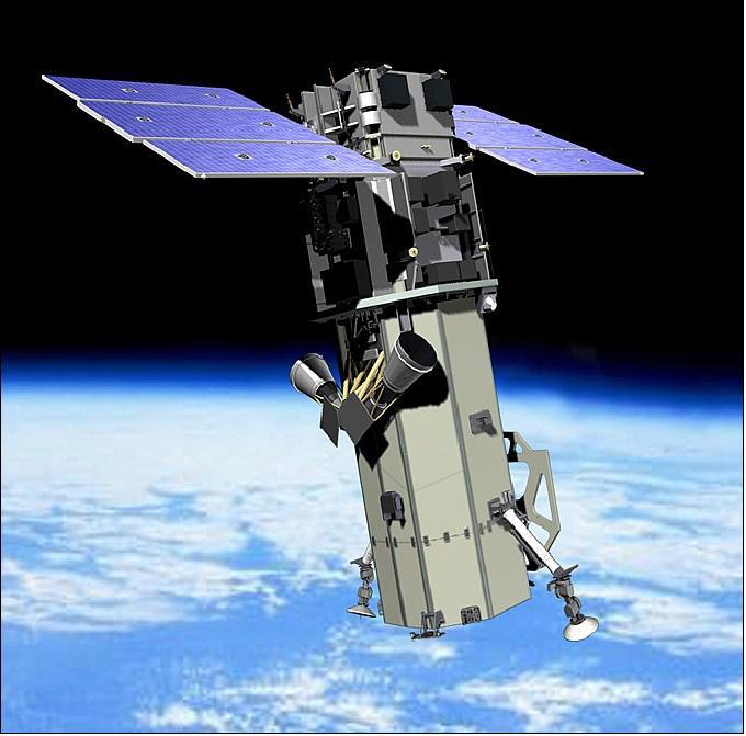 Спутник дистанционного зондирования Земли