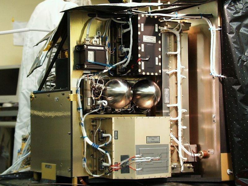 Газоанализатор COSAC на борту Philae.
