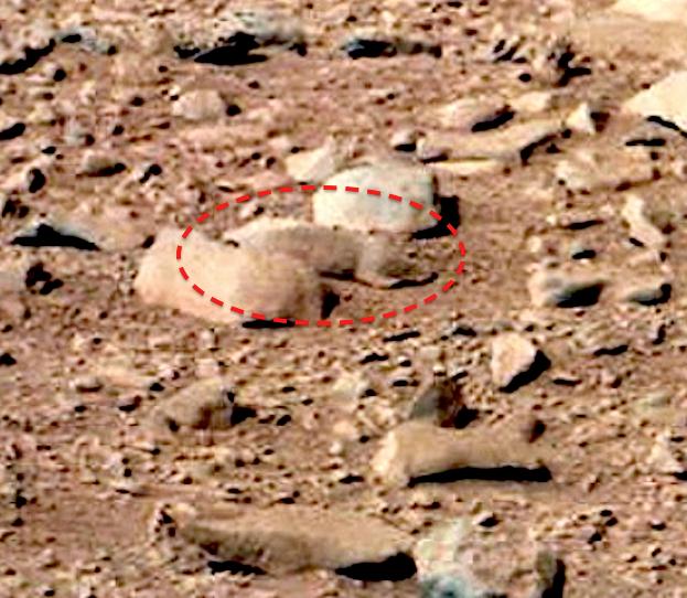 Марс и марсоход на острове Девон