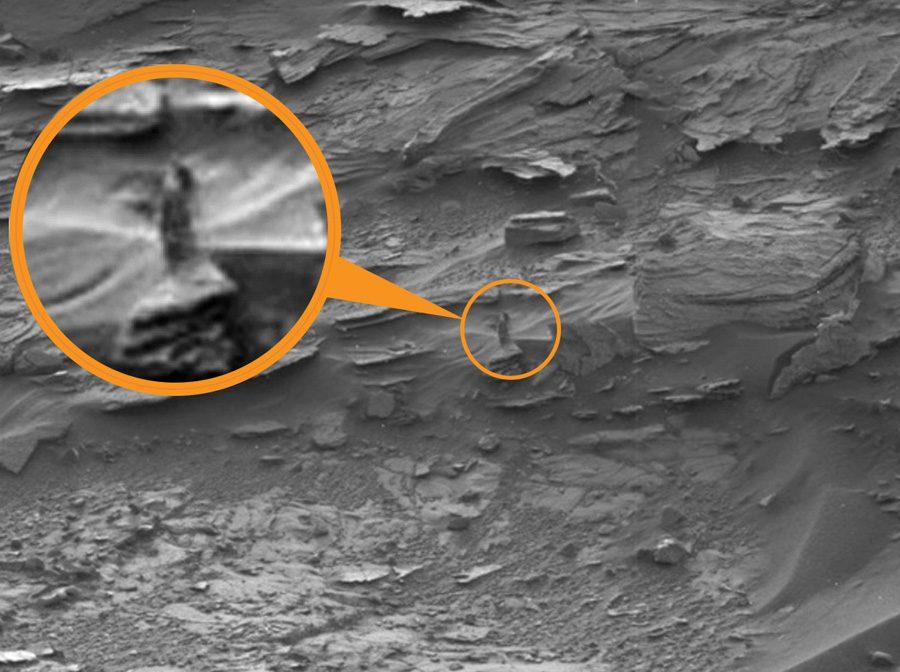 Женщина на Марсе
