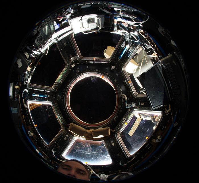 Модуль Cupola на МКС.