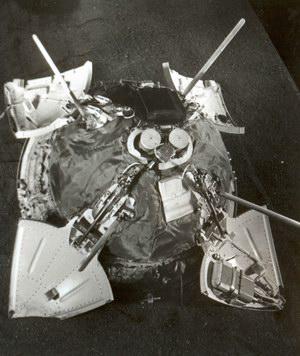 посадочный модуль Марс-3